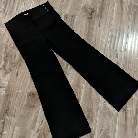 ❄️ 3/$26 Black Wide Leg Dress Pants Trousers